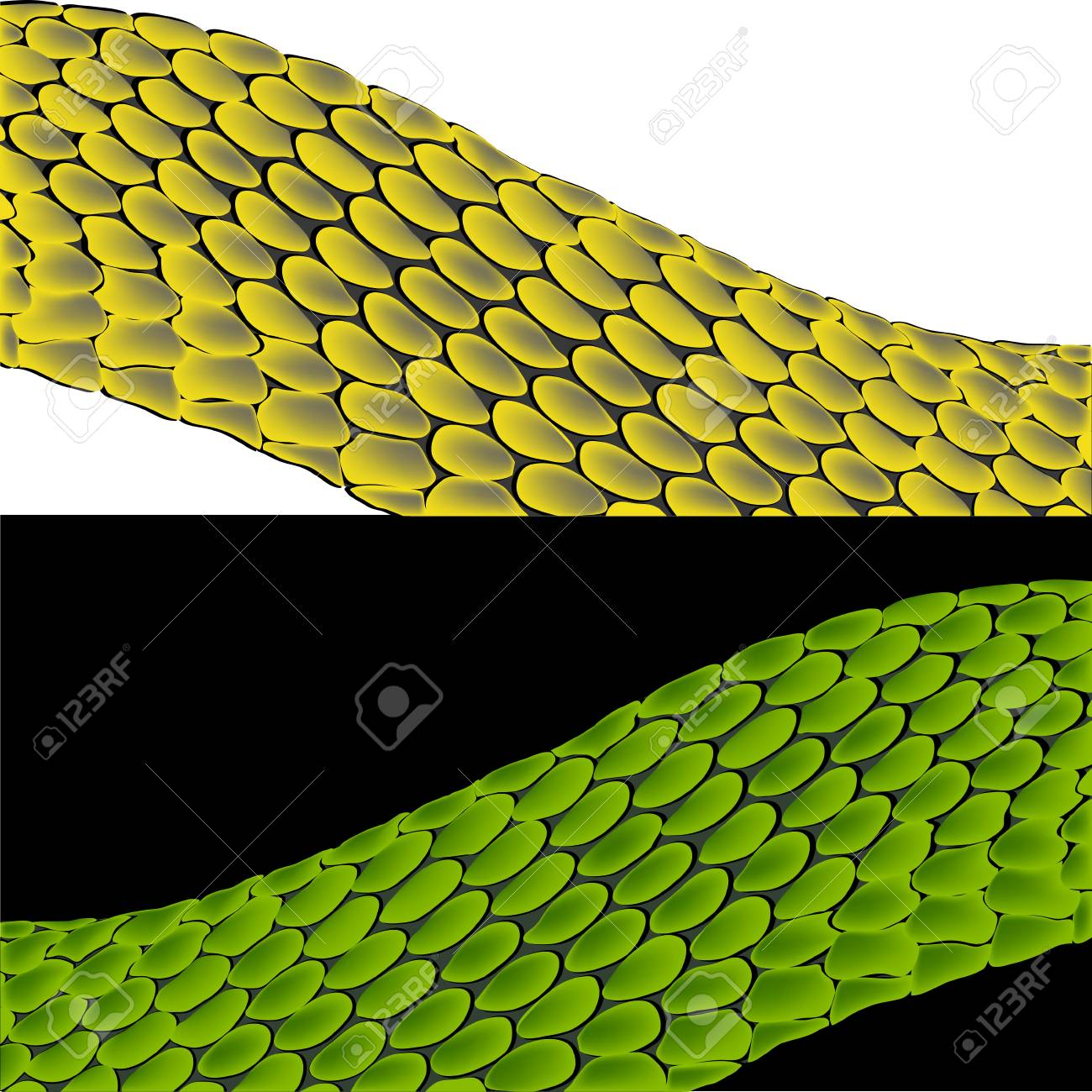 the image of a snake in red color Stock Vector - 16200283