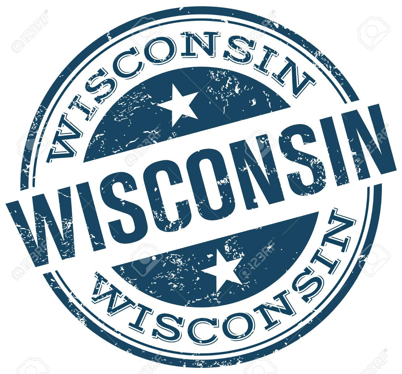 Wisconsin Stamp Royalty Free Cliparts Vectors And Stock