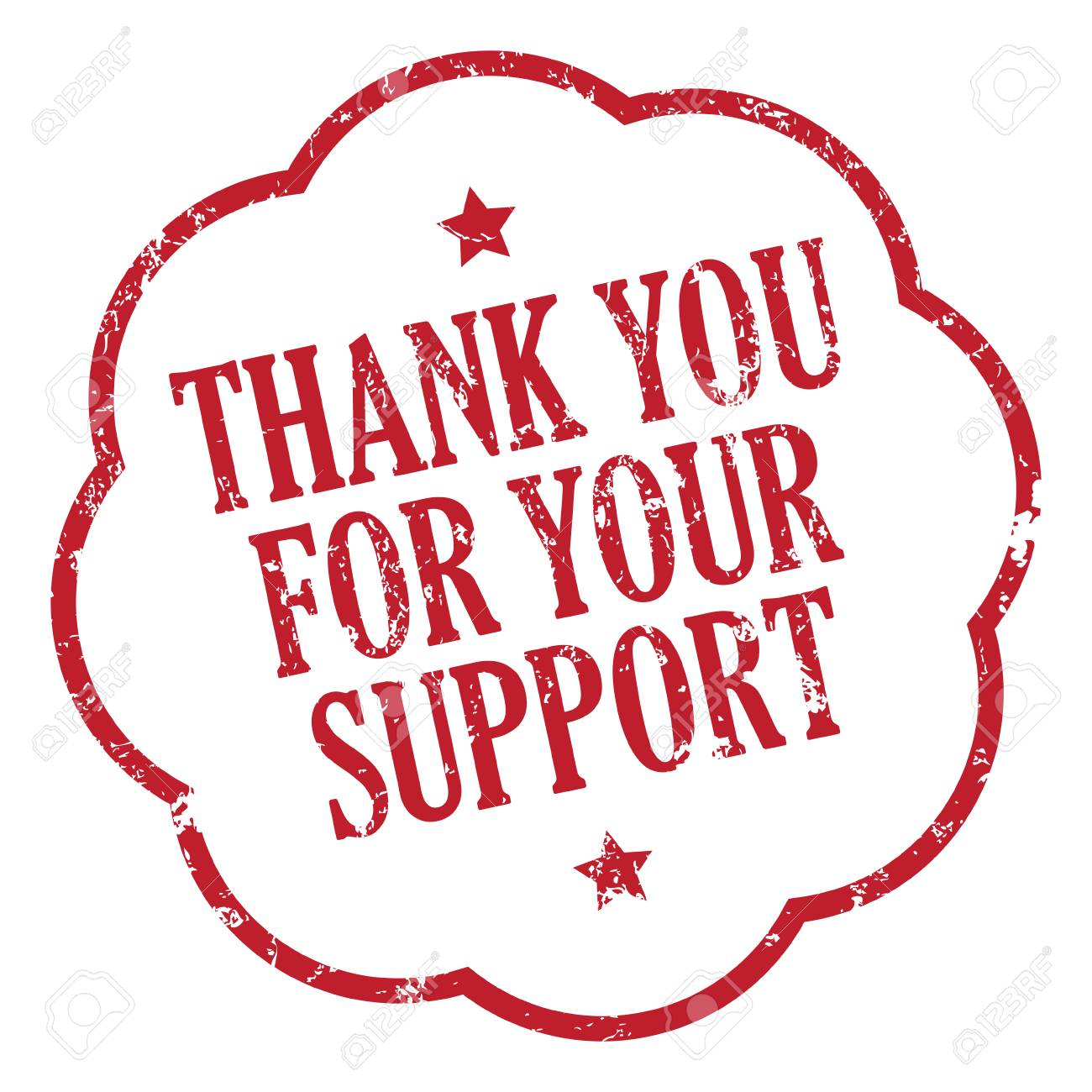 Thank You For Your Support - 86301866