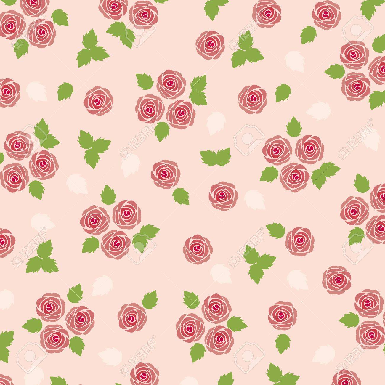 rose background Stock Vector - 12054469