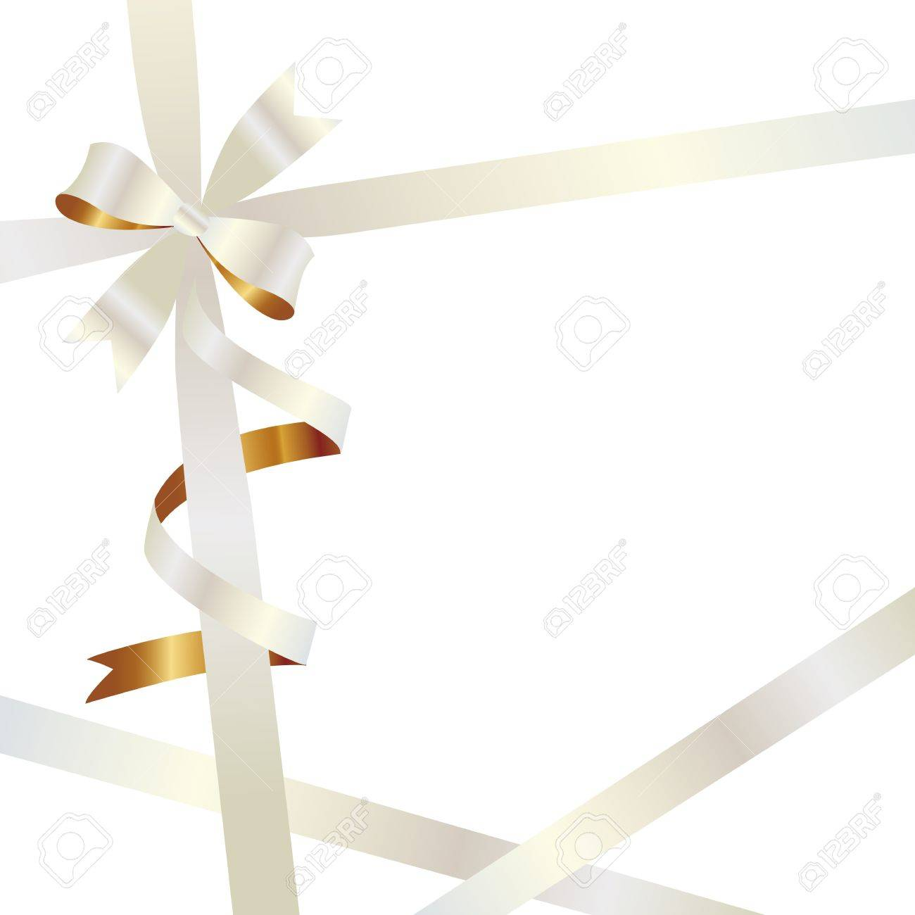 ribbon background Stock Vector - 12054404