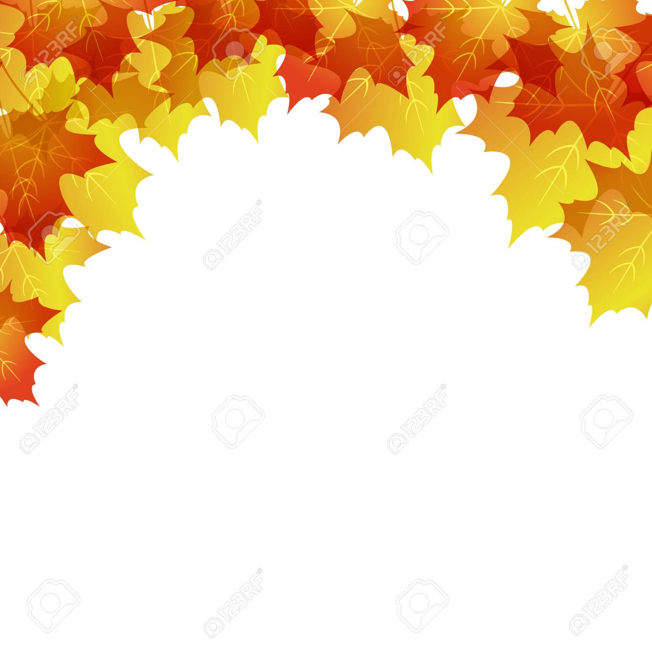 maple background Stock Vector - 12482529