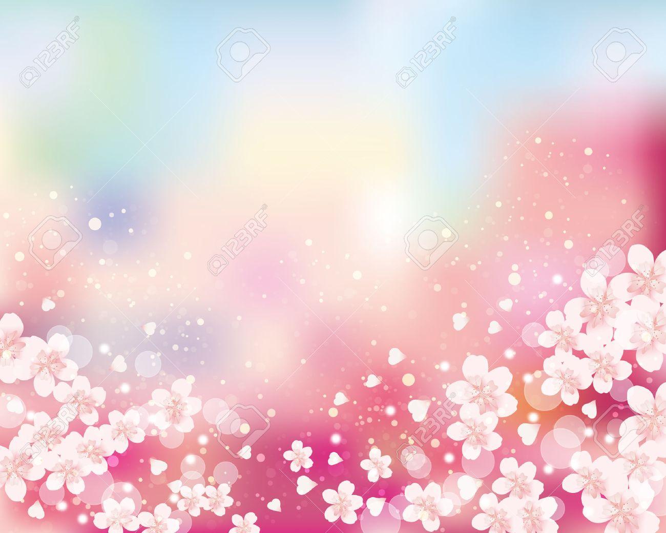 cherry blossom background - 53316828