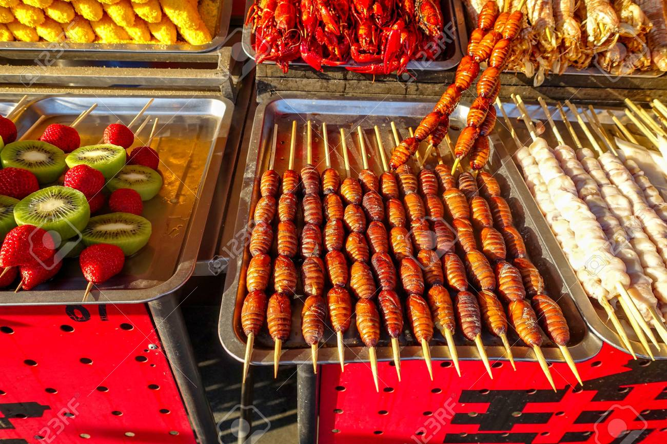 Exotic Snacks And Desserts Can Be Found In This Famous Market.. Stock  Photo, Picture And Royalty Free Image. Image 103790730.