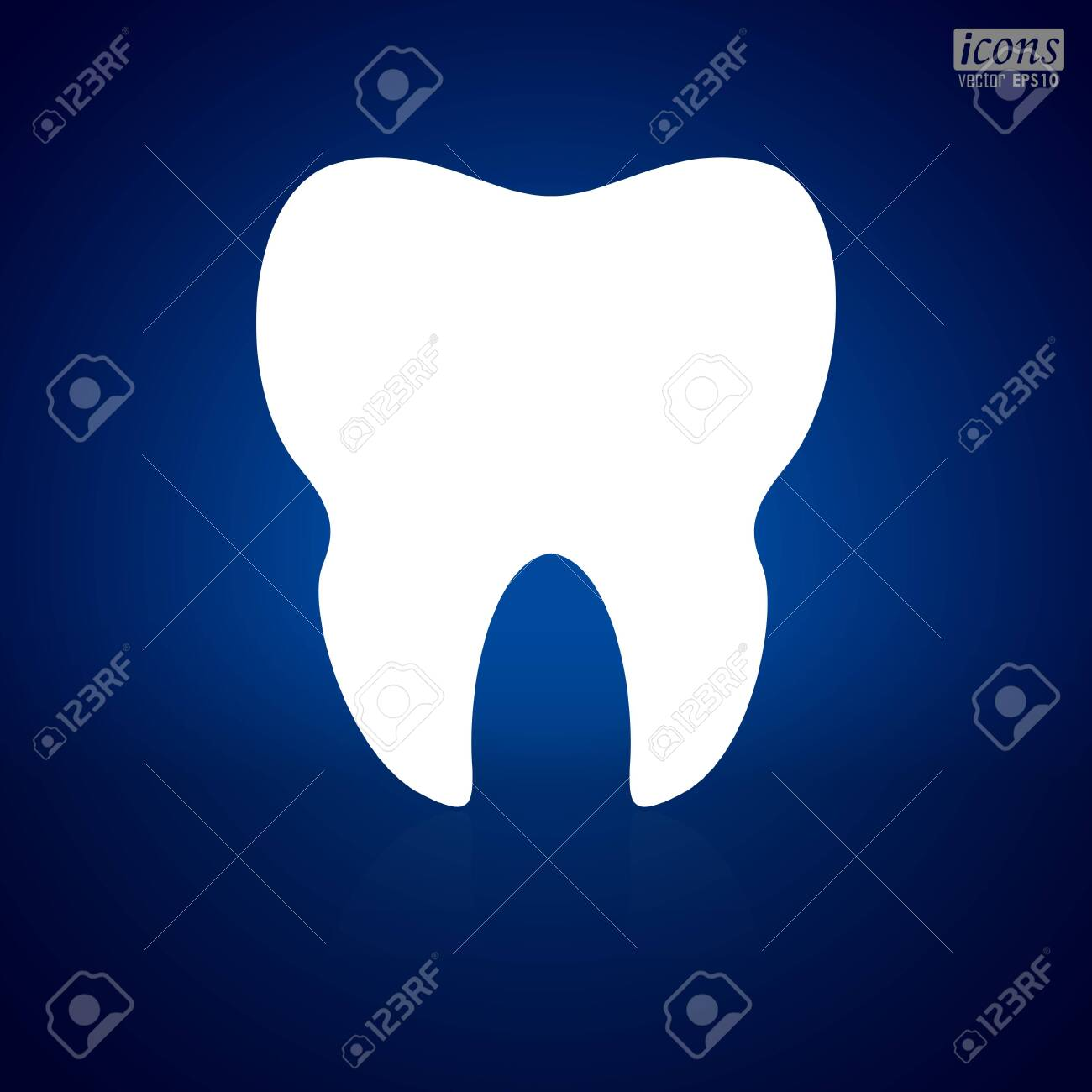 Human Teeth icon vector illustration - 143672284