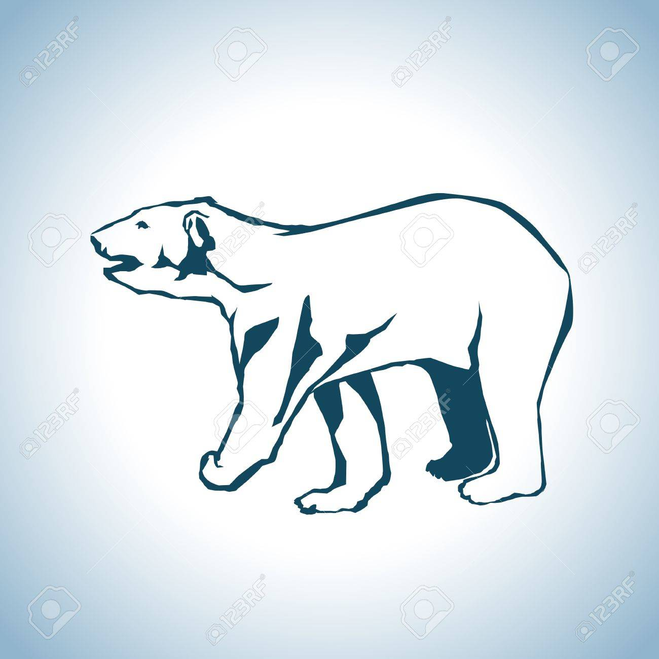Bear drawing Stock Vector - 18488180