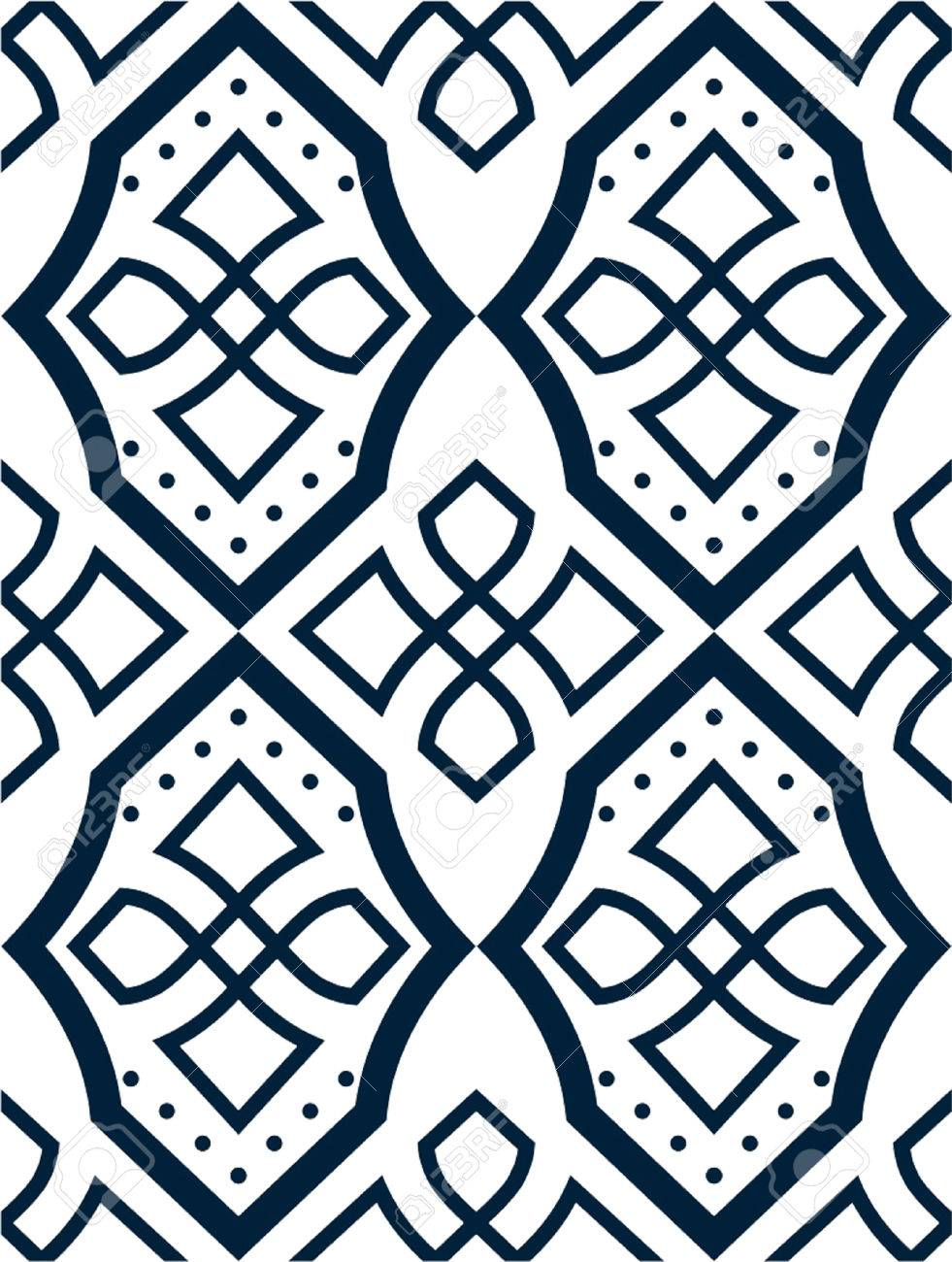 Patrones Geométricos Ilustraciones Vectoriales, Clip Art Vectorizado ...
