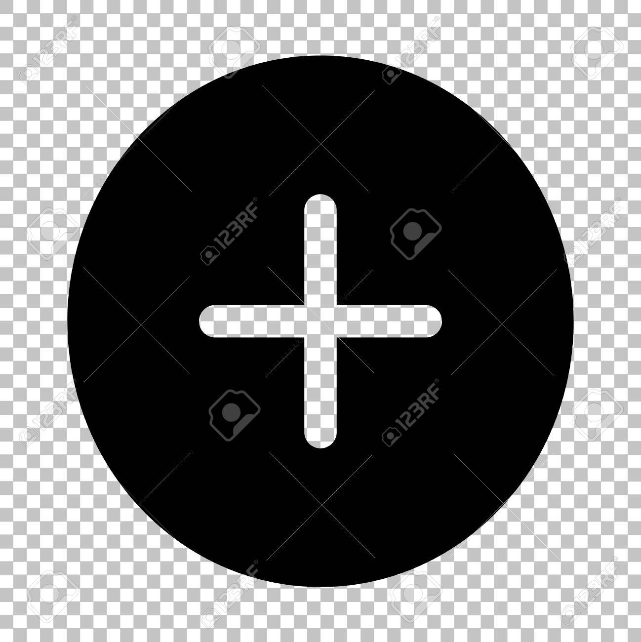 Positive symbol plus sign flat style icon on transparent positive symbol plus sign flat style icon on transparent background stock vector 52174461 biocorpaavc Choice Image
