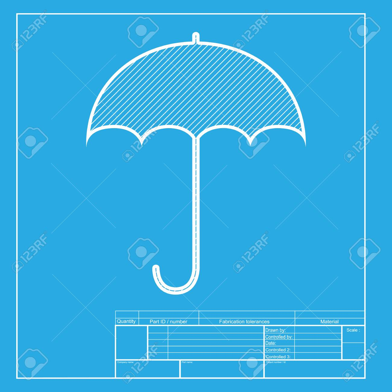Umbrella sign icon rain protection symbol flat design style umbrella sign icon rain protection symbol flat design style white section of icon malvernweather Image collections
