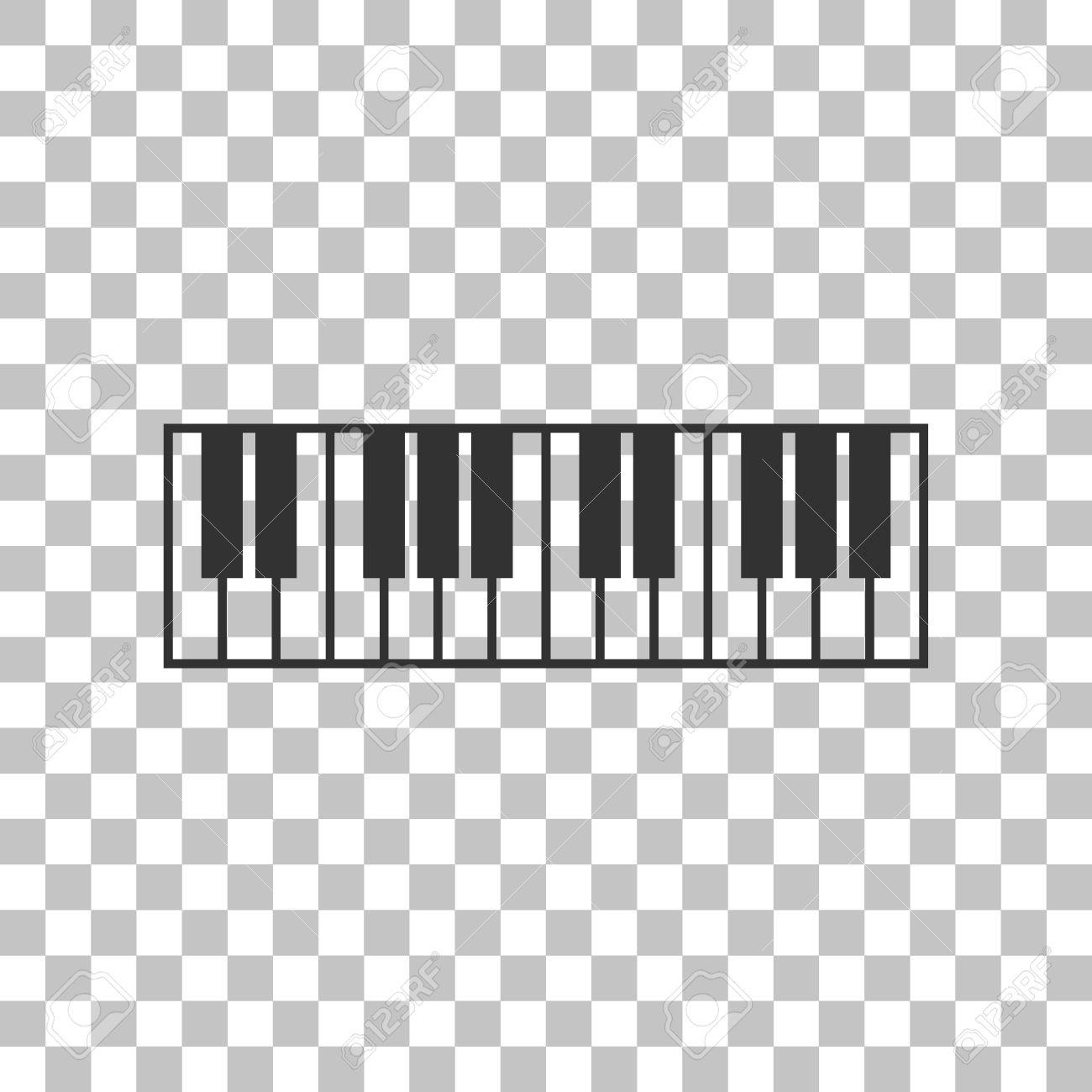 Dark Gray Icon On Transparent Background Stock Vector
