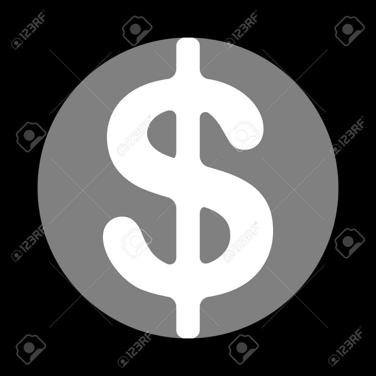 Dollars Sign Illustration Usd Currency Symbol Money Label