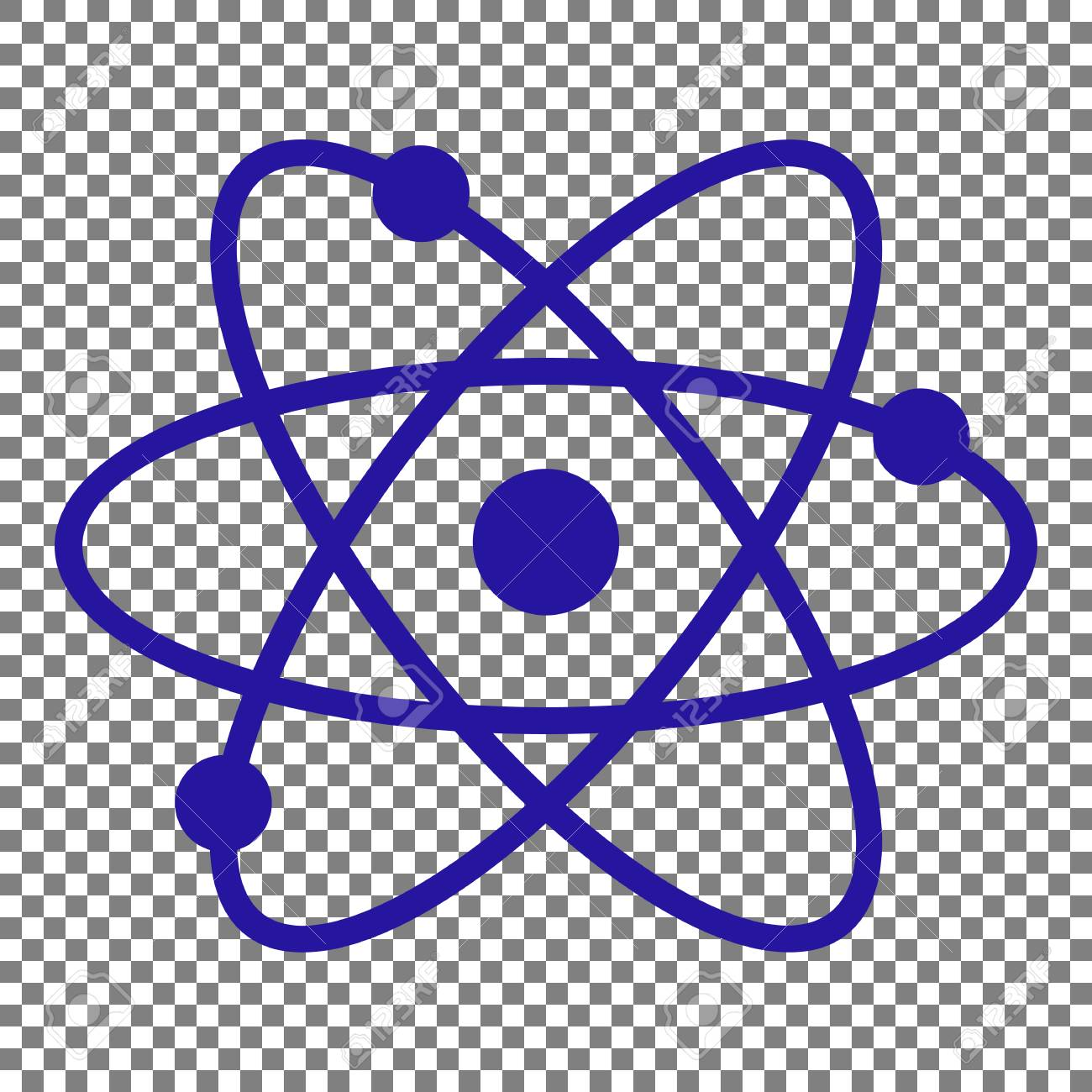 Atom sign illustration blue icon on transparent background royalty atom sign illustration blue icon on transparent background stock vector 70629330 malvernweather Gallery