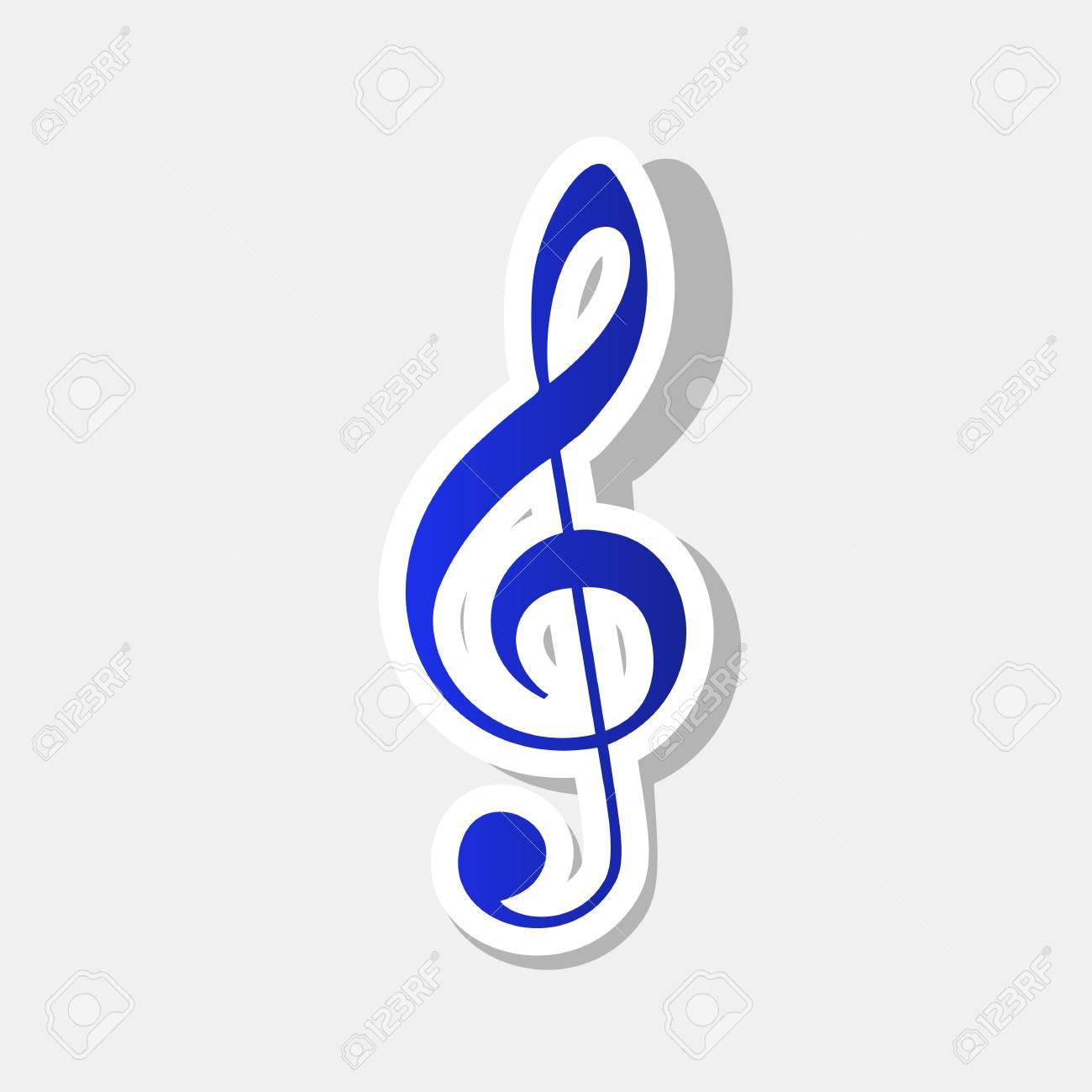 music violin clef sign g clef treble clef vector new year rh 123rf com treble clef clipart free treble clef clipart