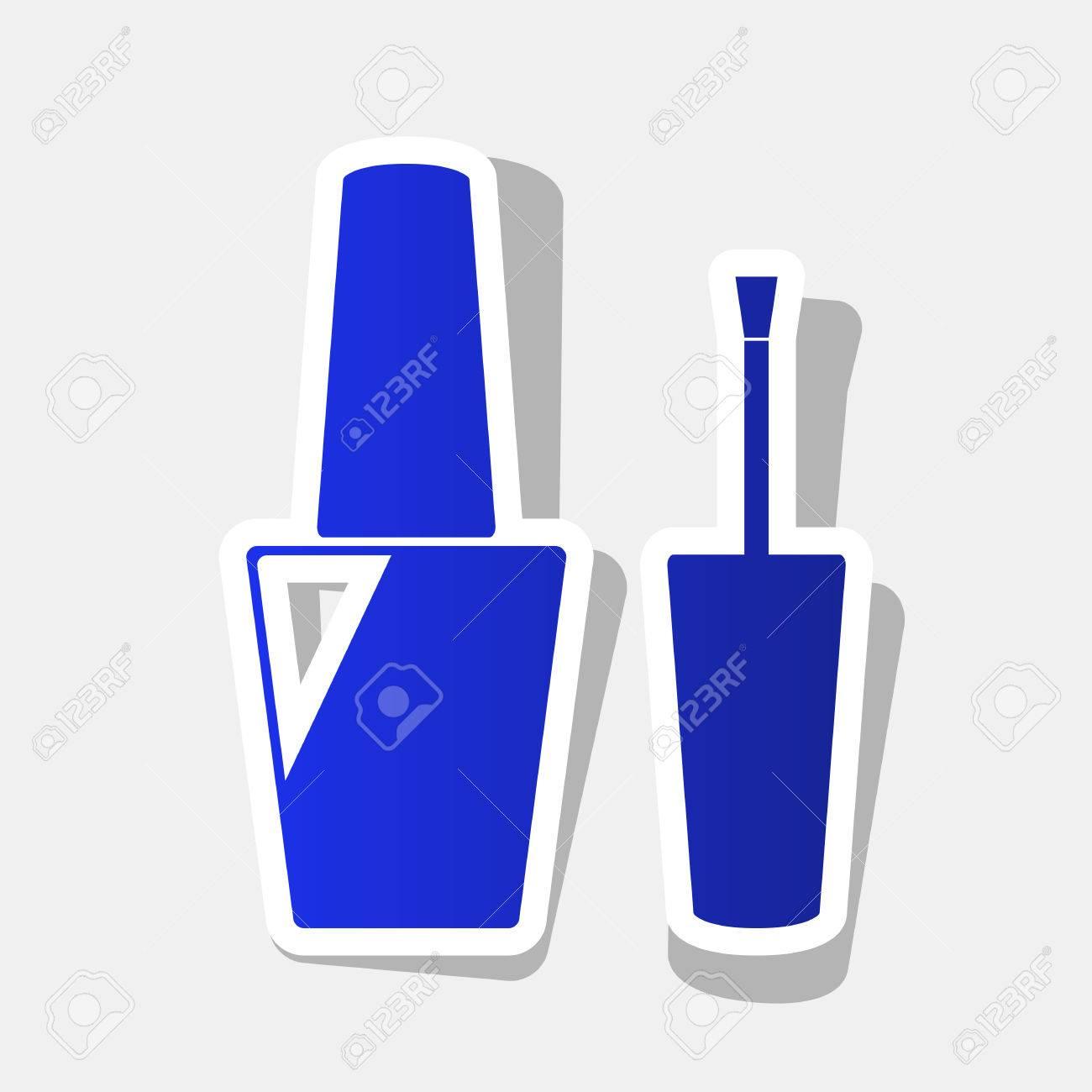 Atractivo Gris Azul Del Esmalte De Uñas Foto - Ideas Para Pintar ...