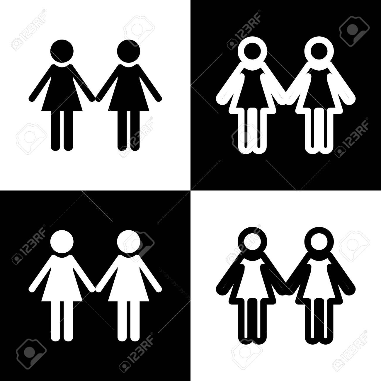 Black and white girl lesbians