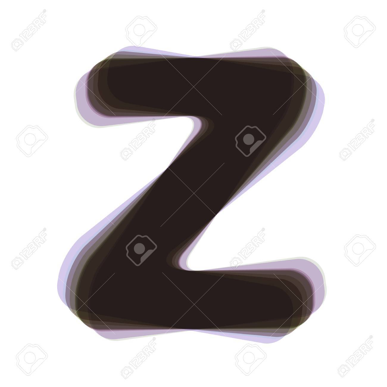 Letter Z Sign Design Template Element Vector Colorful Icon