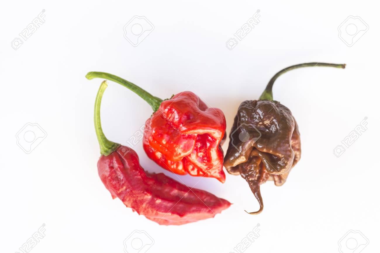 Chili Bilder the three hotest chili on earth bhut jolokia ghost chili carolina