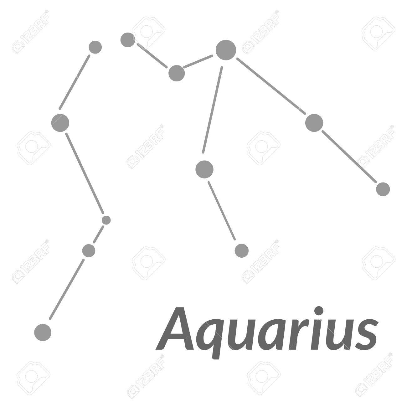 The Water Bearer Aquarius Sing Star Constellation Element Age