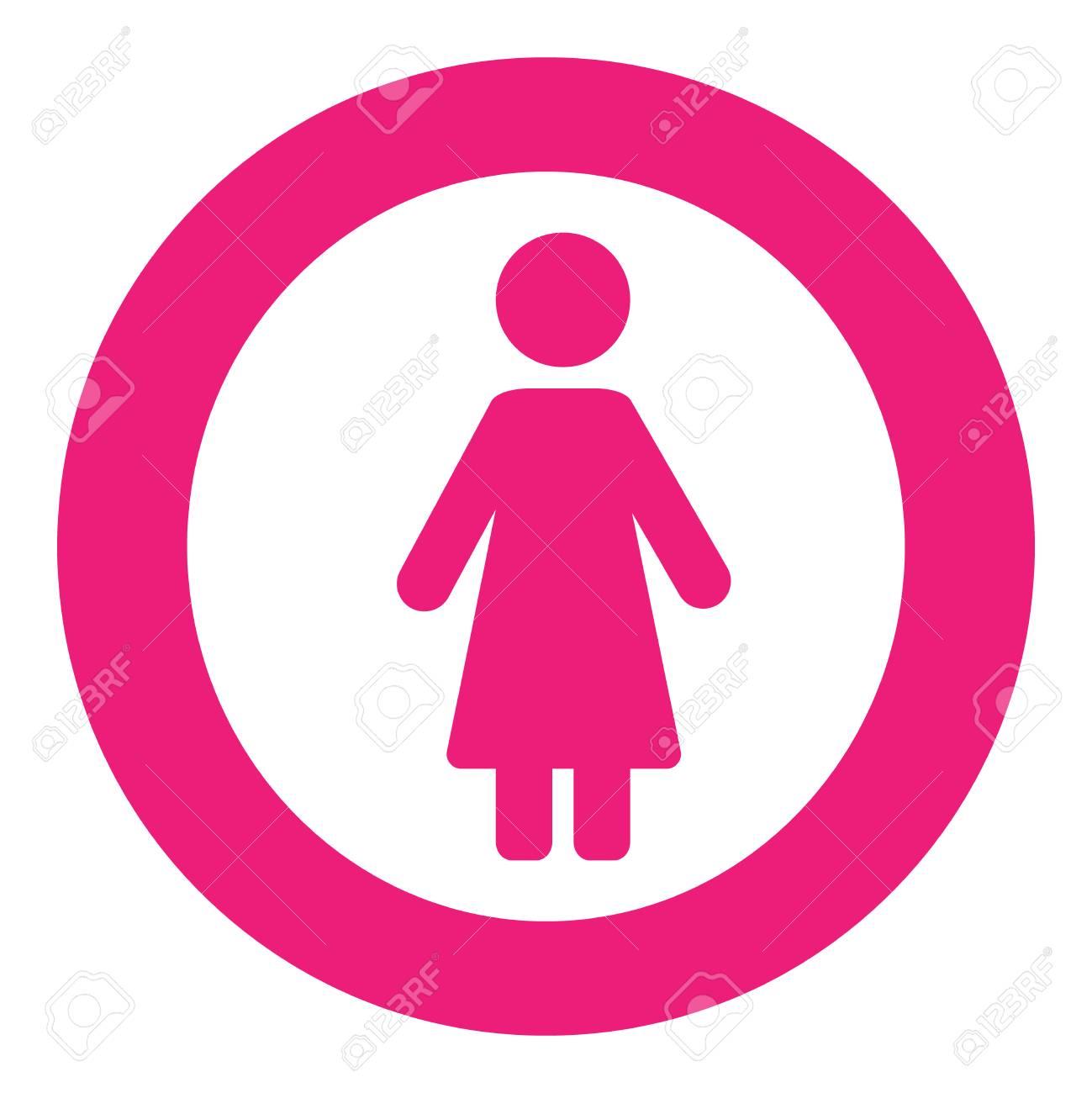Conjunto De Símbolos De Género Hombre Mujer Niña Chico Mujer Hombre