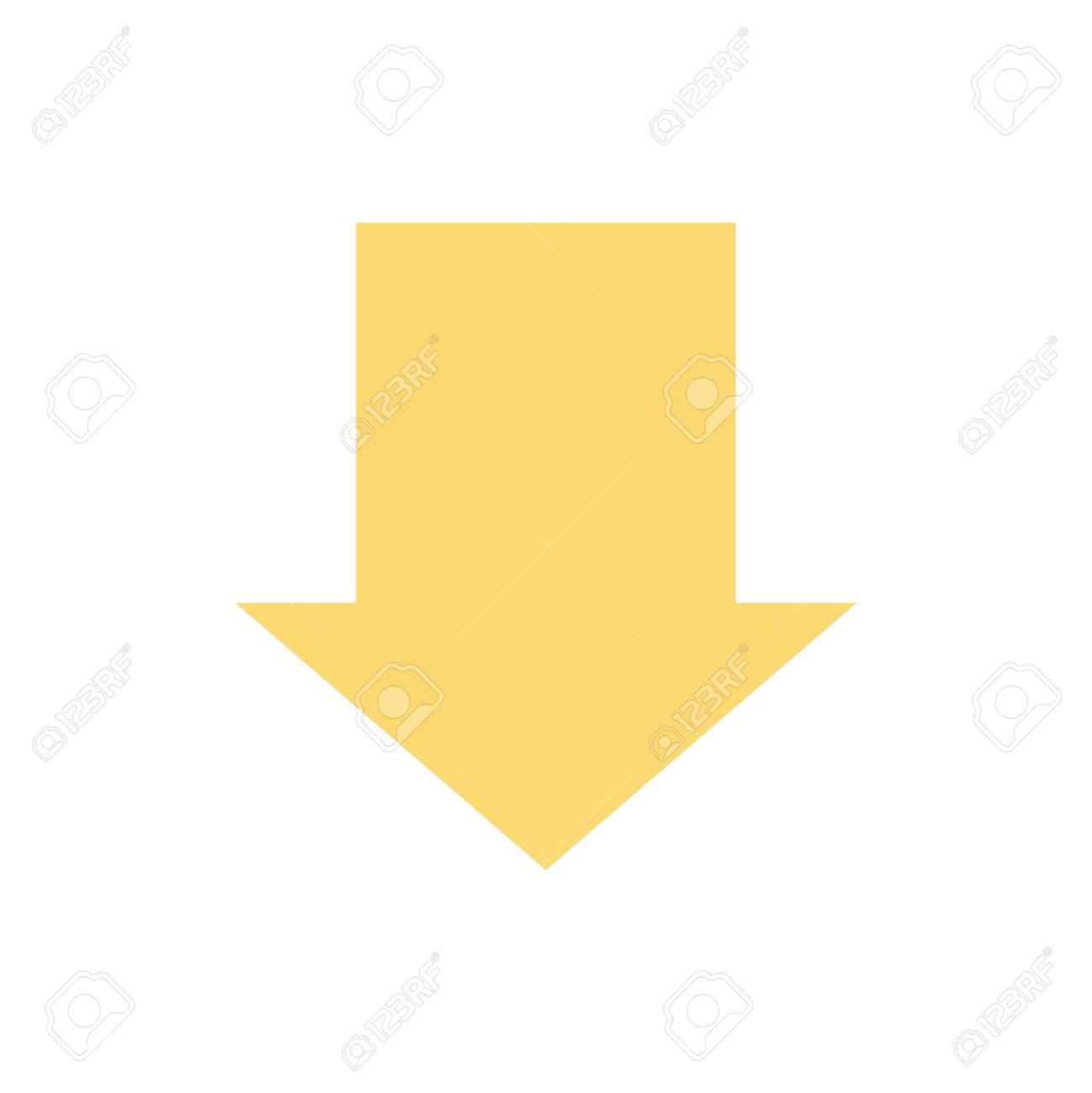 ↓ 白の背景上のポインター。のイラスト素材・ベクタ - Image 87979064.