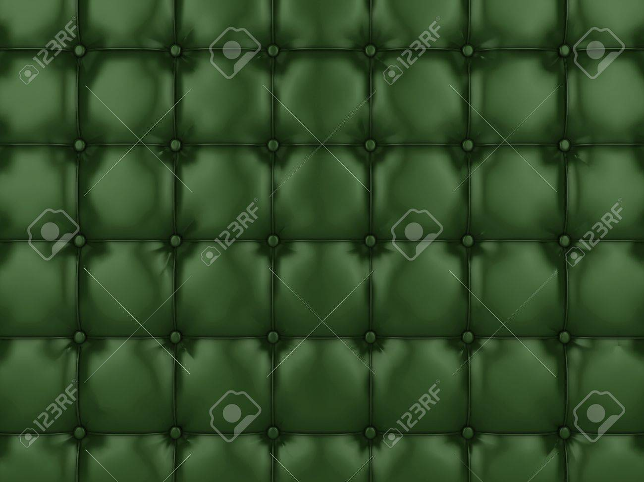 Realistic illustration of shiny buttoned leather. Stock Photo - 5884628