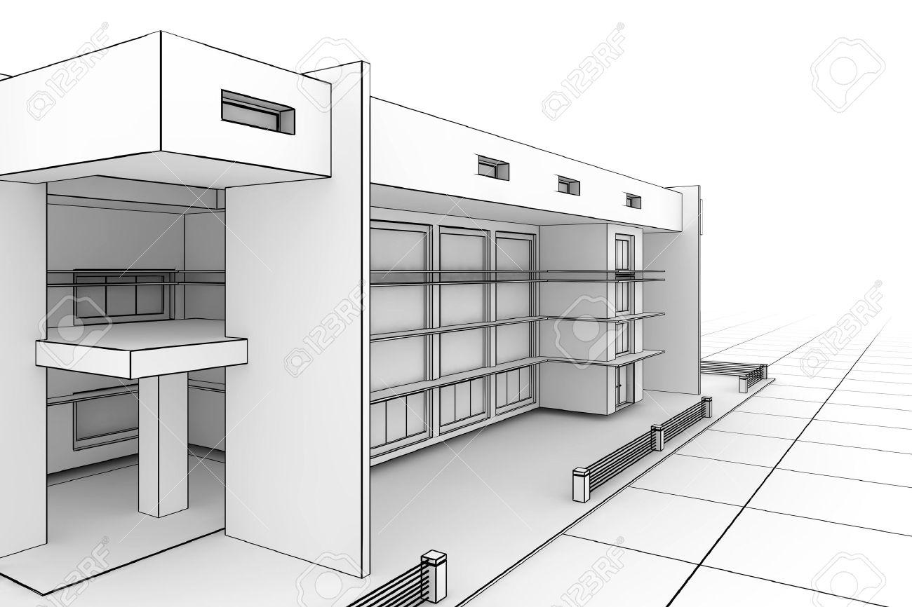Home Design Blueprint - Blueprint home design