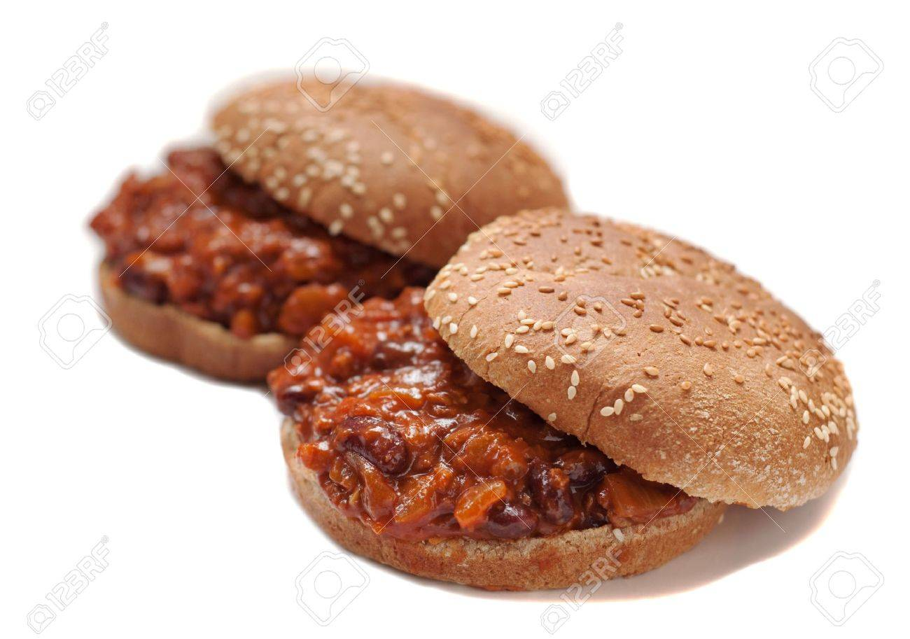sloppy joes with soy burger and kidney beans - 7256591