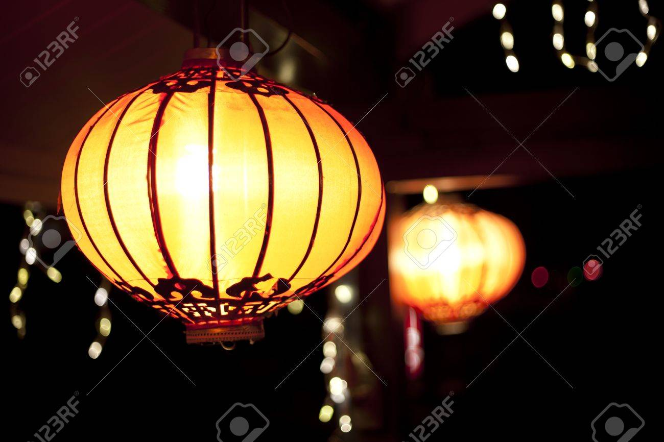 chinese new year lanterns - 12013517