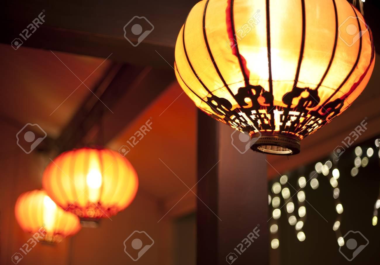 lanterns at night - 12013518
