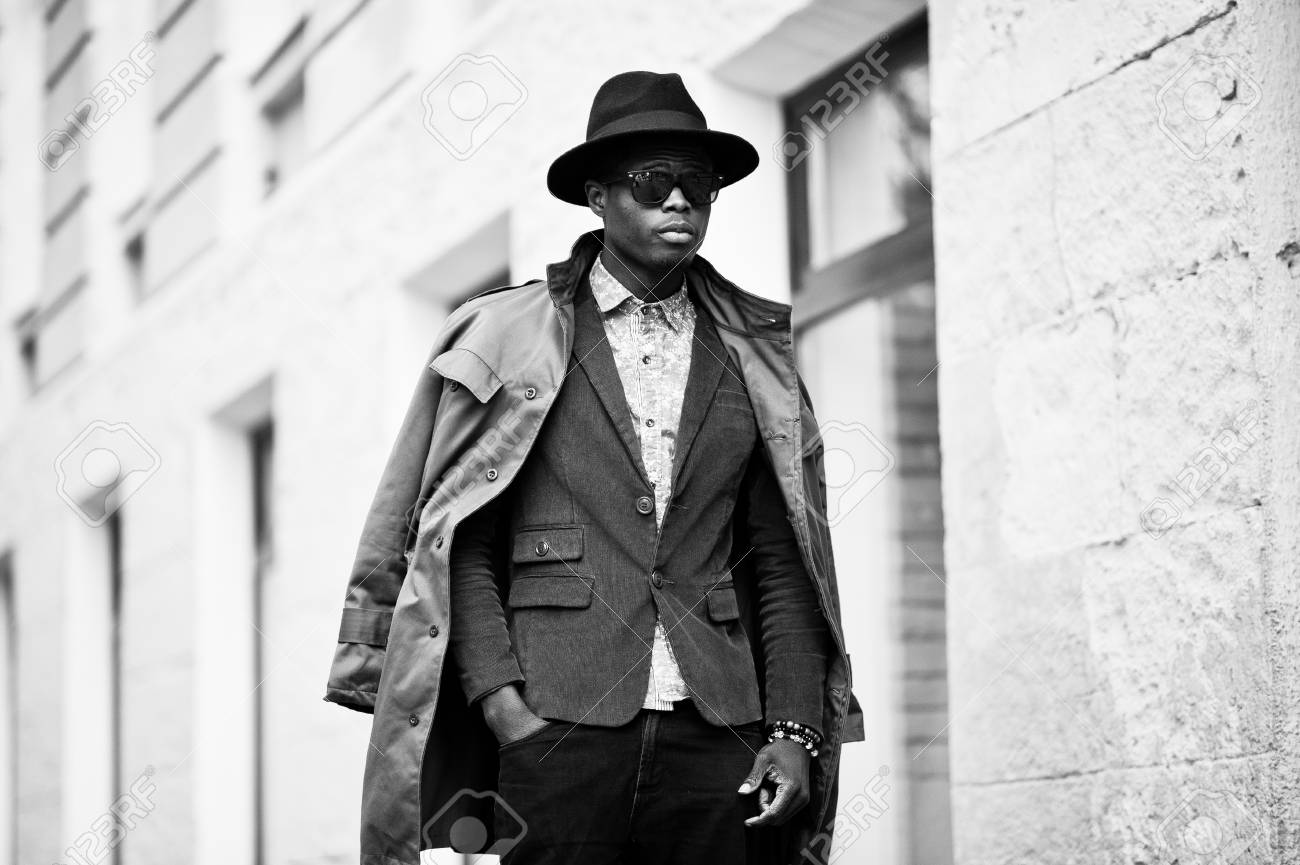 Fashion Portrait Of Black African American Man On Green Velvet Stock Photo Picture And Royalty Free Image Image 55464926