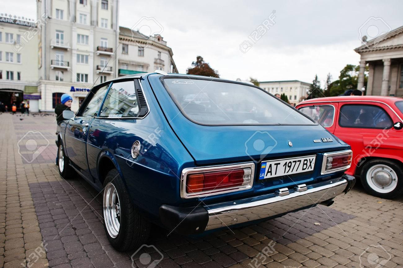 Tarnopol, Ukraine - October 09, 2016: Classic Retro Car Corolla ...