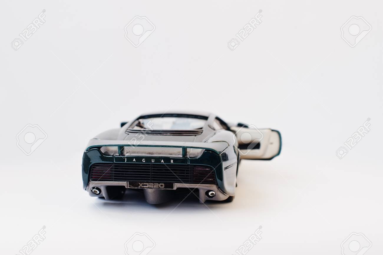 Hai Ukraine March 1 2017 Mini Copy Of Green Toy Car Jaguar