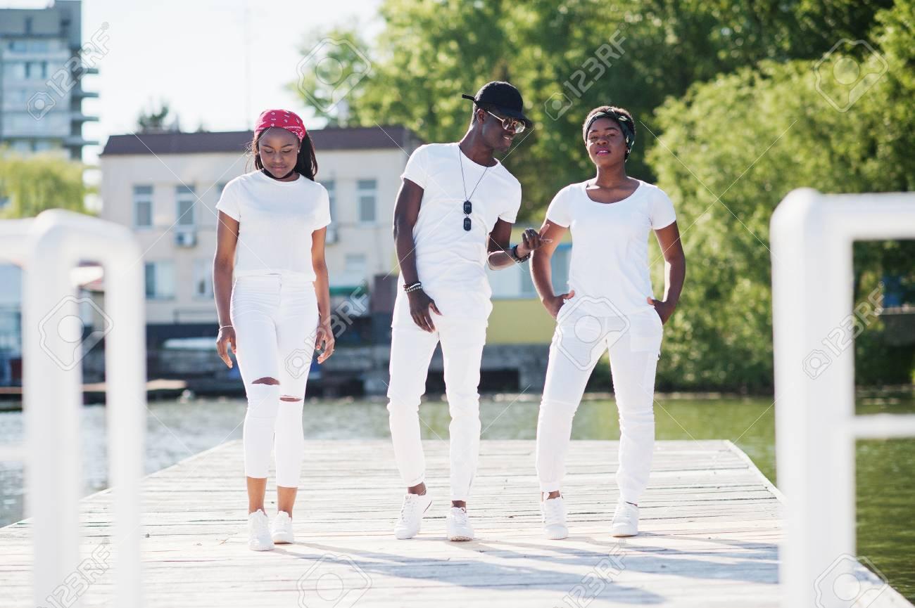 Weiße Jungs aus einem schwarzen Mädchen