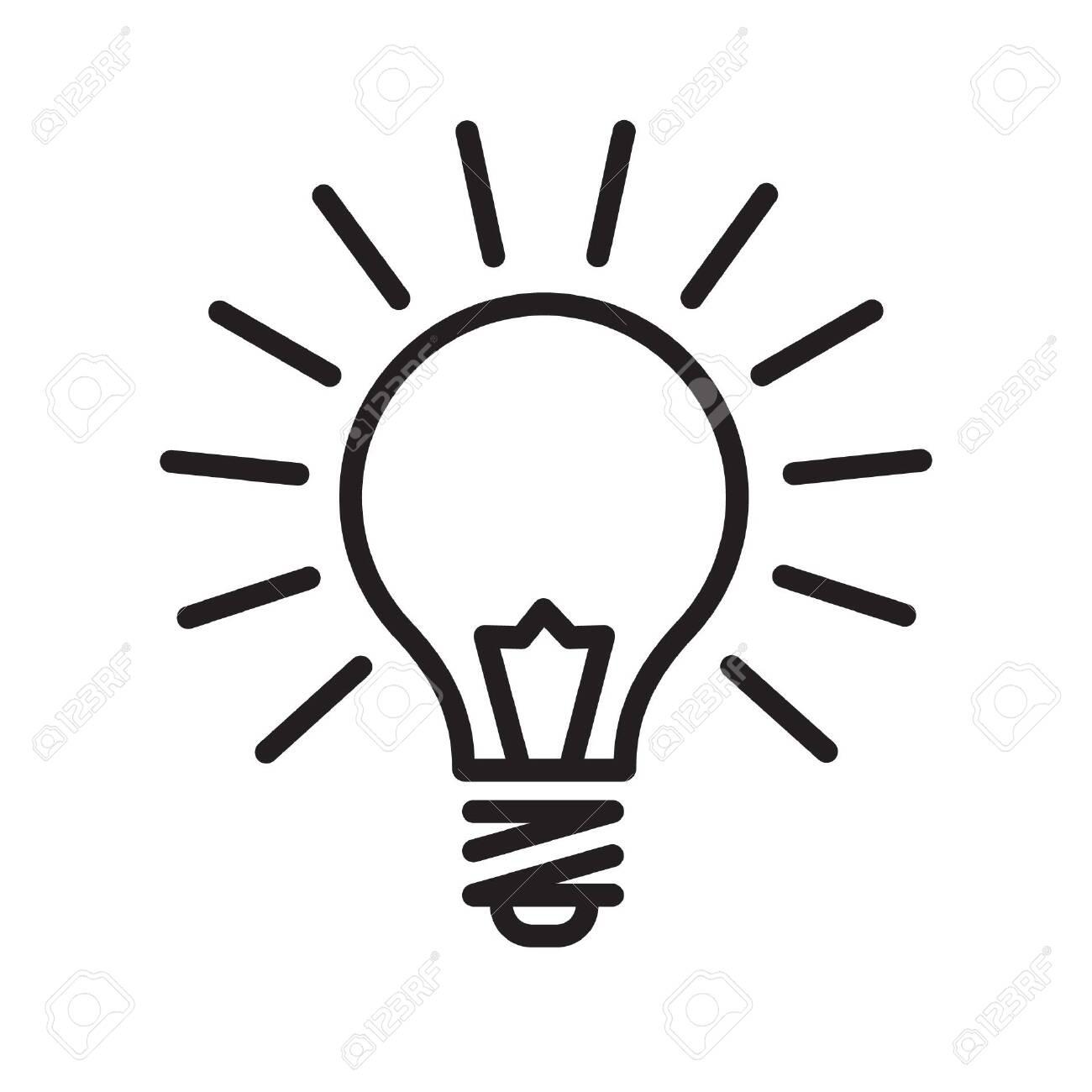 Light bulb icon - 126399734