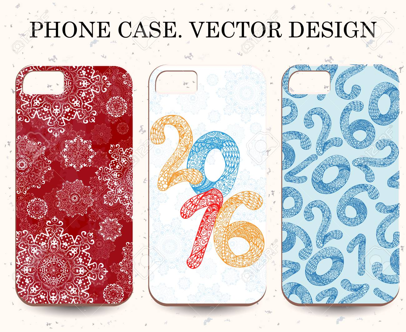 Christmas Phone Case.Christmas Phone Cases Abstract Happy New Year Background Hand