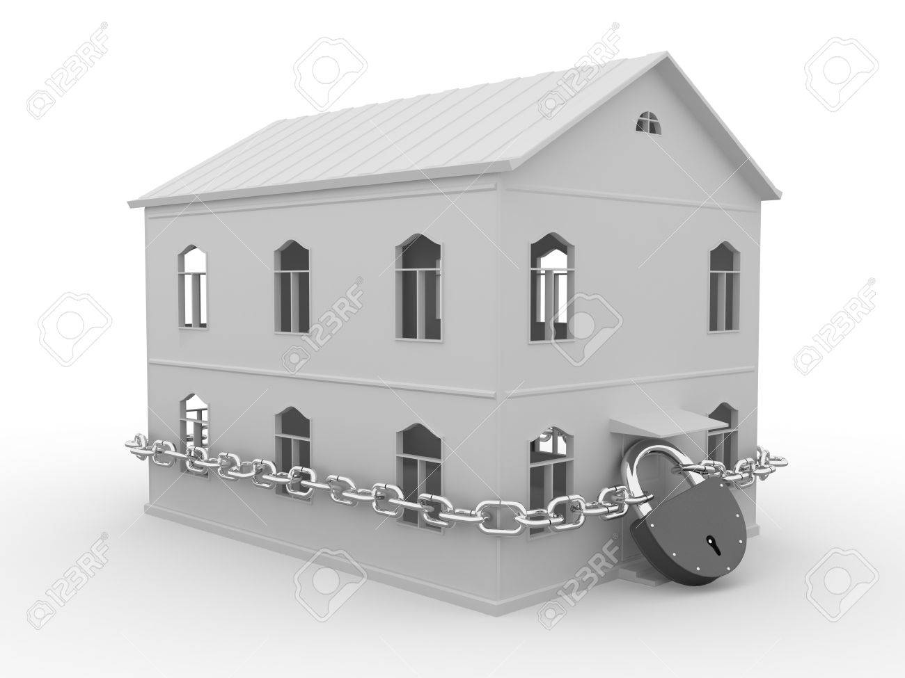 Guarded house Stock Photo - 10194833