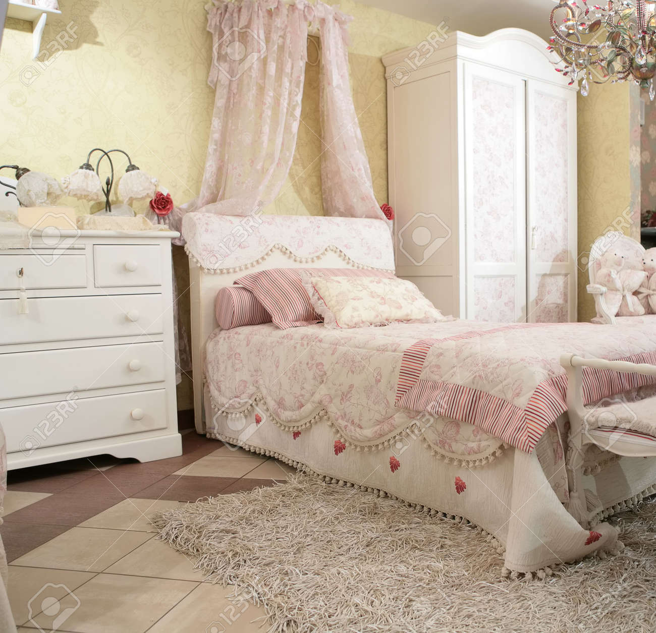Awe Inspiring Interior To Luxurious Bedroom In Rococo Style Expensive Furniture Best Image Libraries Weasiibadanjobscom