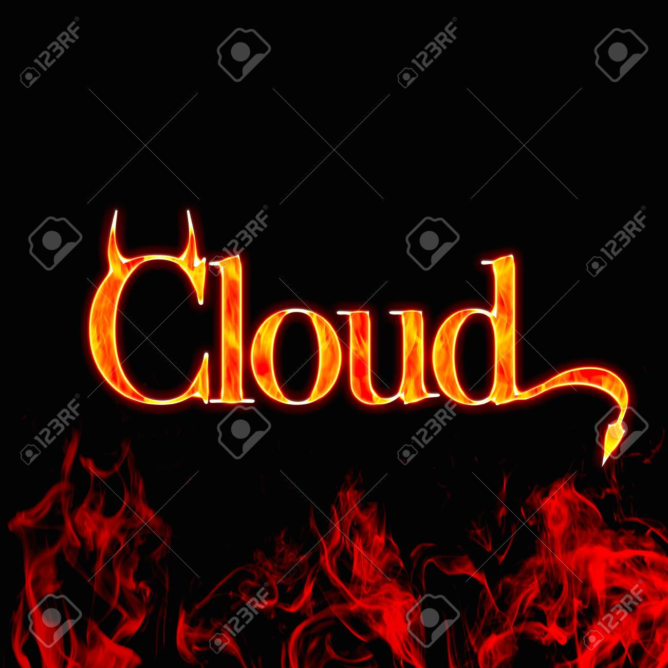 Safety cloud Stock Photo - 12554991