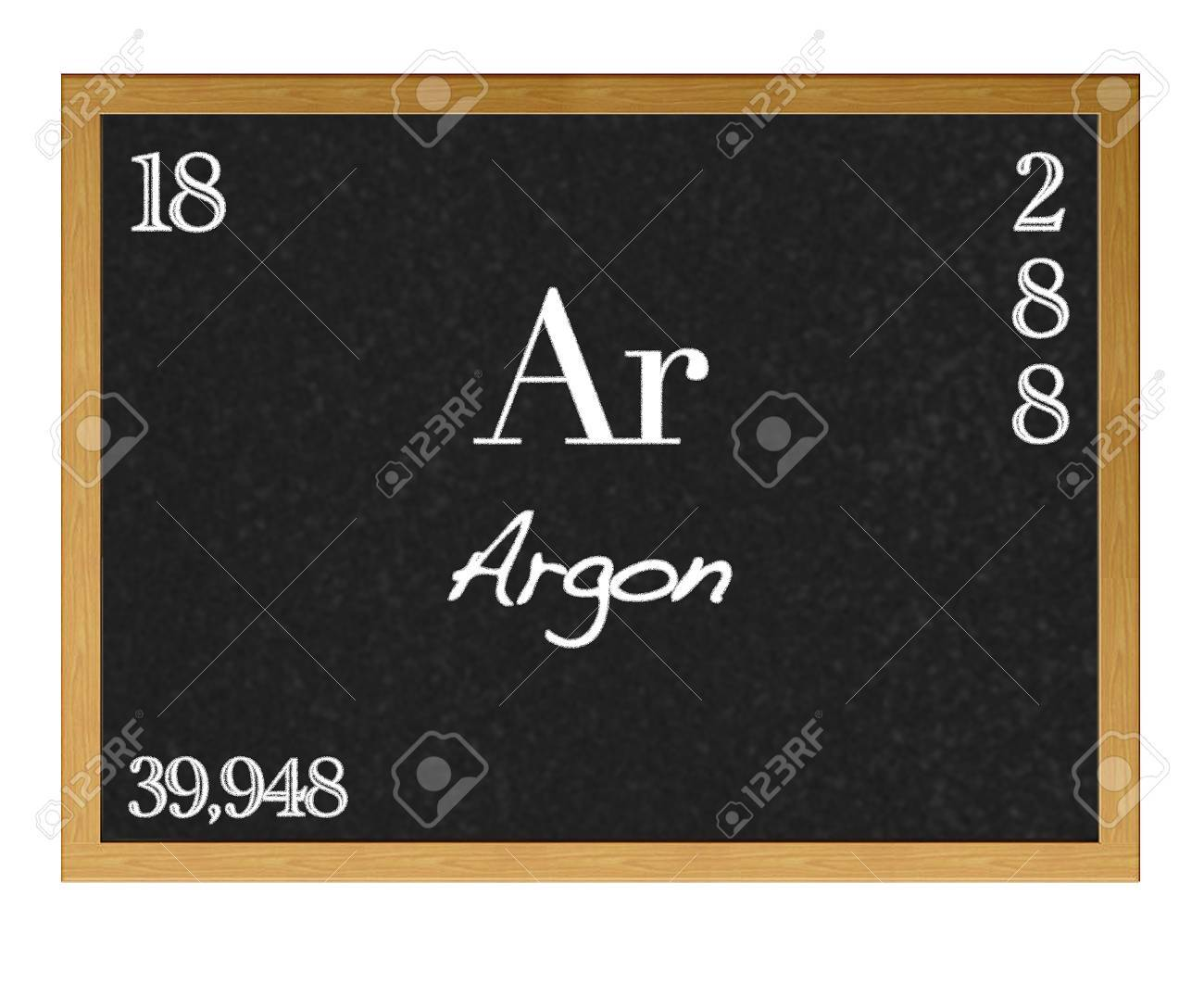 Isolated blackboard with periodic table argon stock photo isolated blackboard with periodic table argon stock photo 13123326 gamestrikefo Choice Image