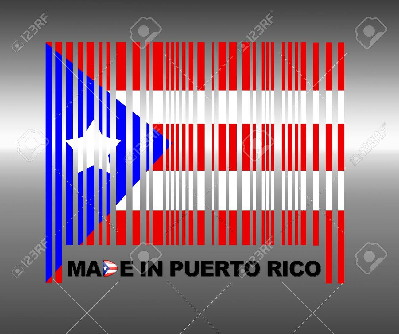 Barcode Puerto Rico. Stock Photo - 13194792