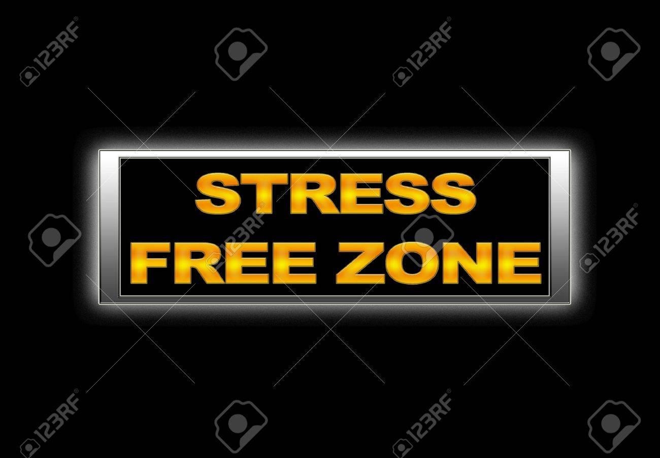 Stress free zone. Stock Photo - 14723802
