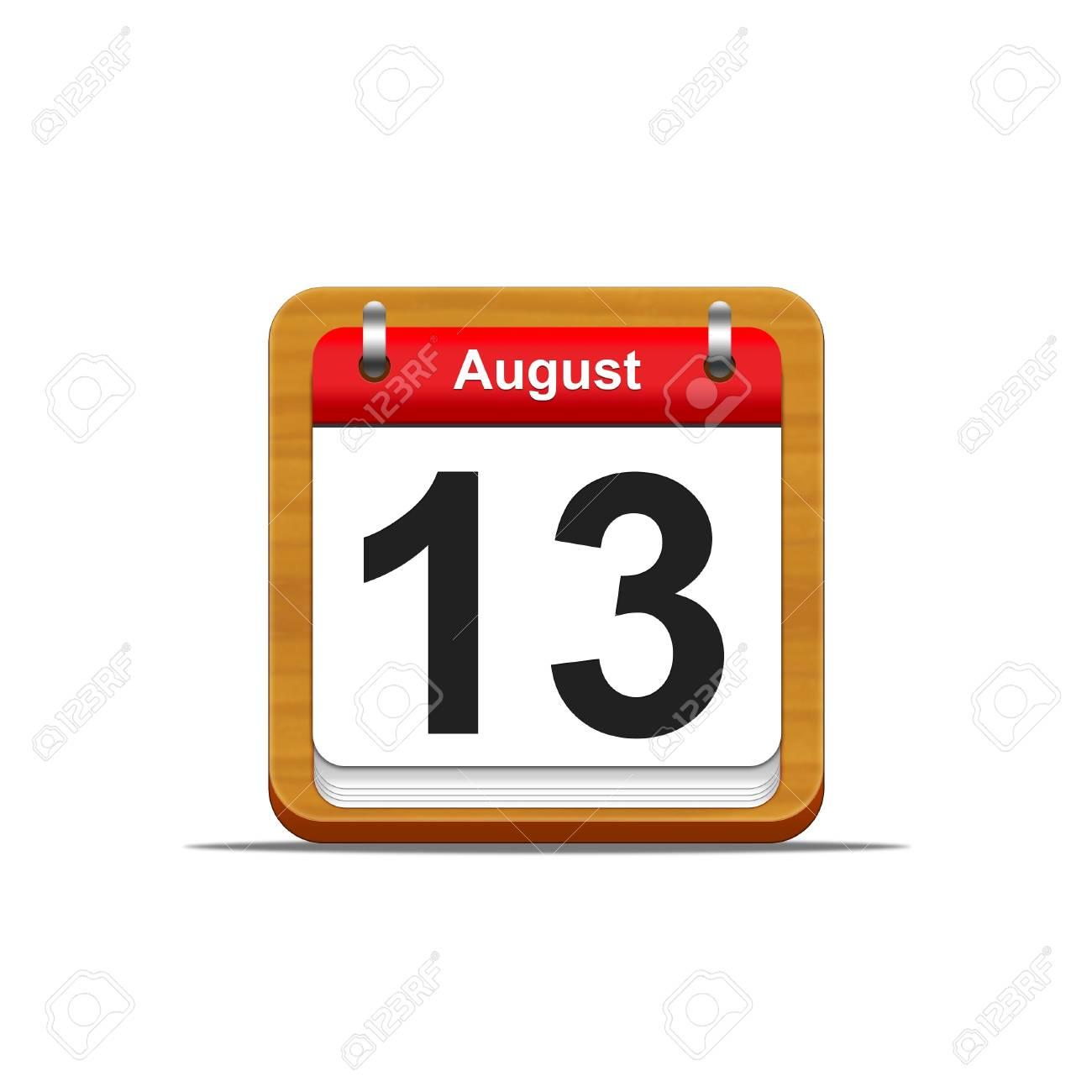 Illustration elegant wooden calendar on white background Stock Illustration - 16227252
