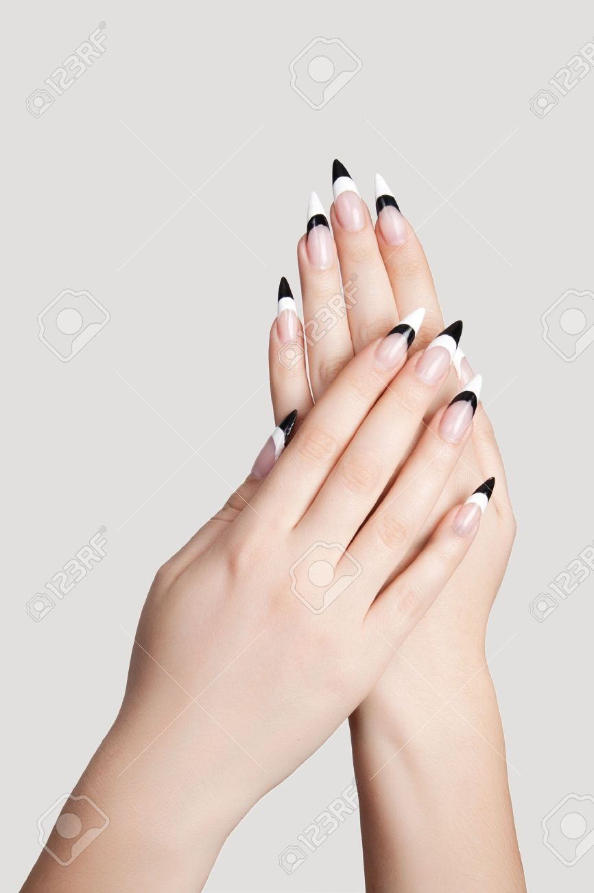 With Beautiful Nails Sharp