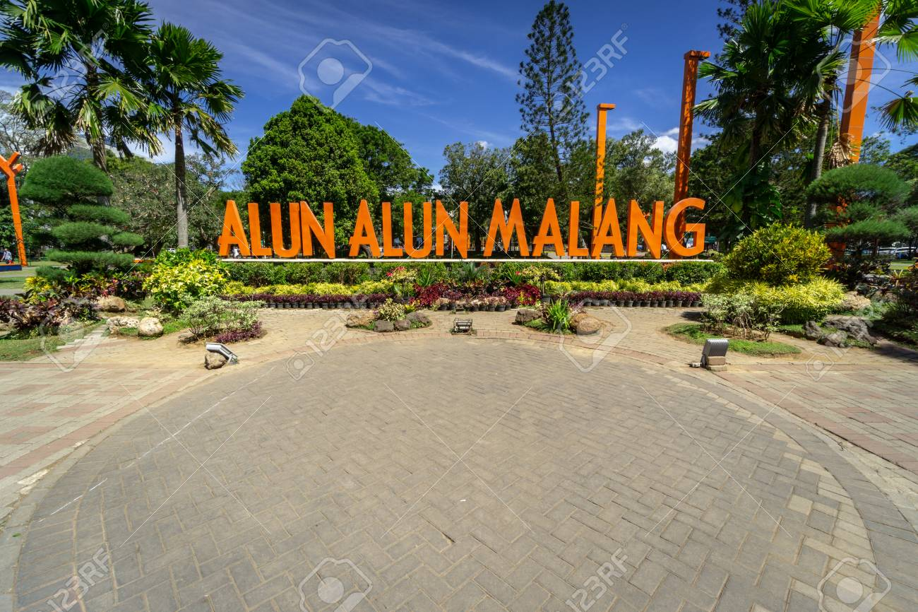 Landmark Of Malang City In East Java Indonesia Stock Photo Picture And Royalty Free Image Image 117685377