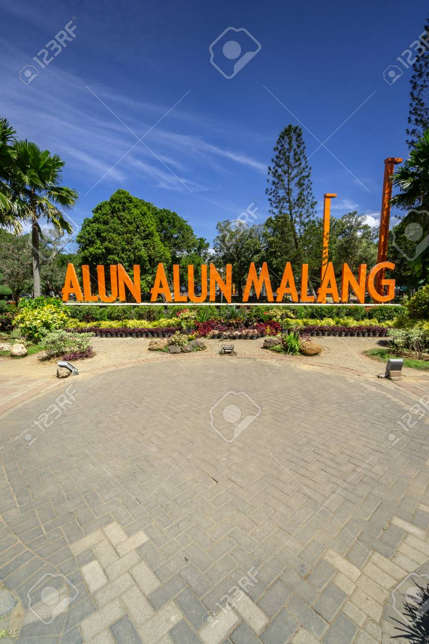 Landmark Of Malang City In East Java Indonesia Stock Photo Picture And Royalty Free Image Image 117685387