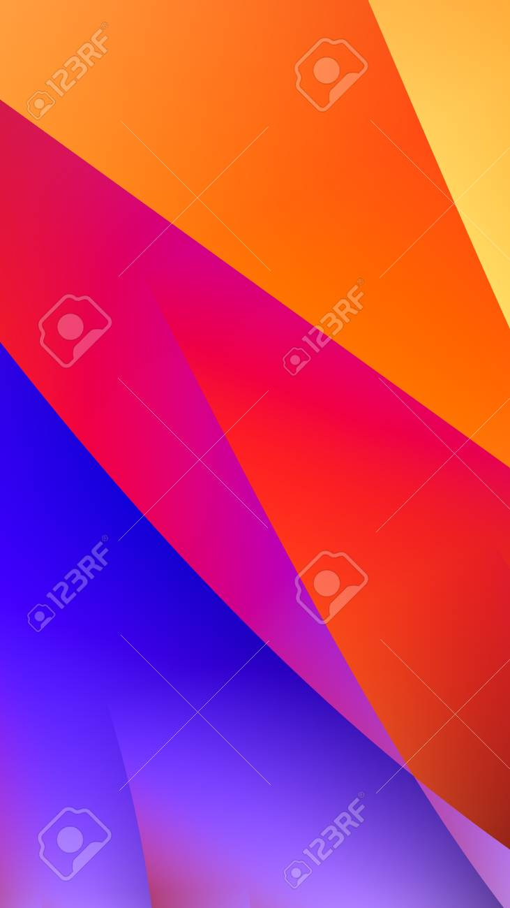 Abstract background with punchy pastels rainbow gradients, diagonal