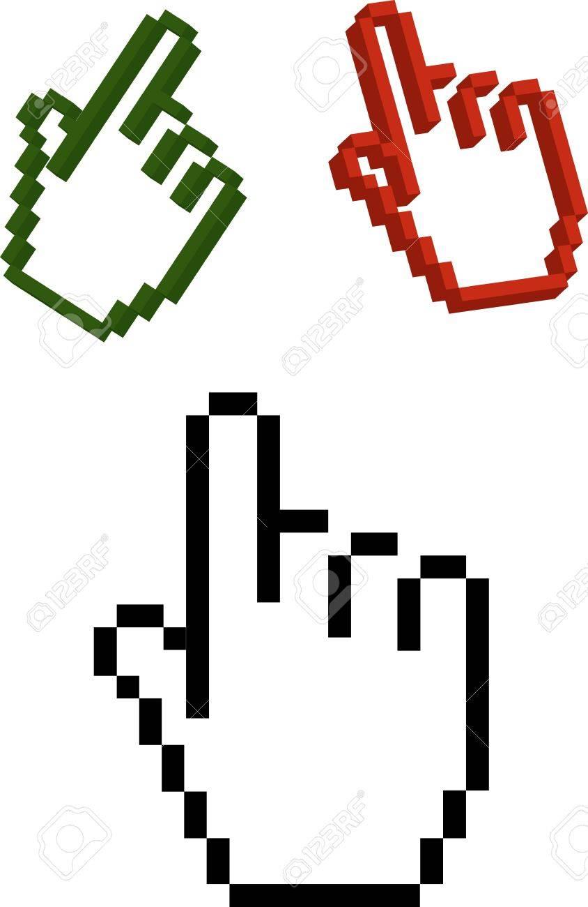 Hand cursor Stock Photo - 742195