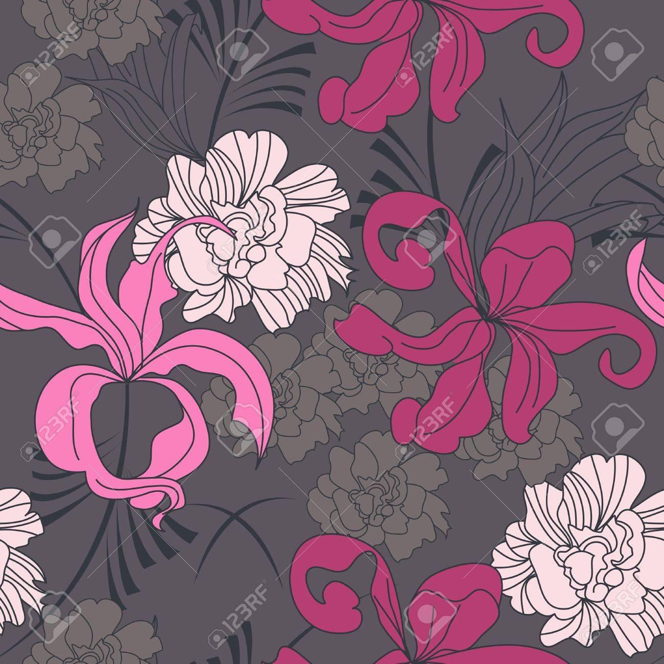 Romantic seamless pattern Stock Vector - 6966884