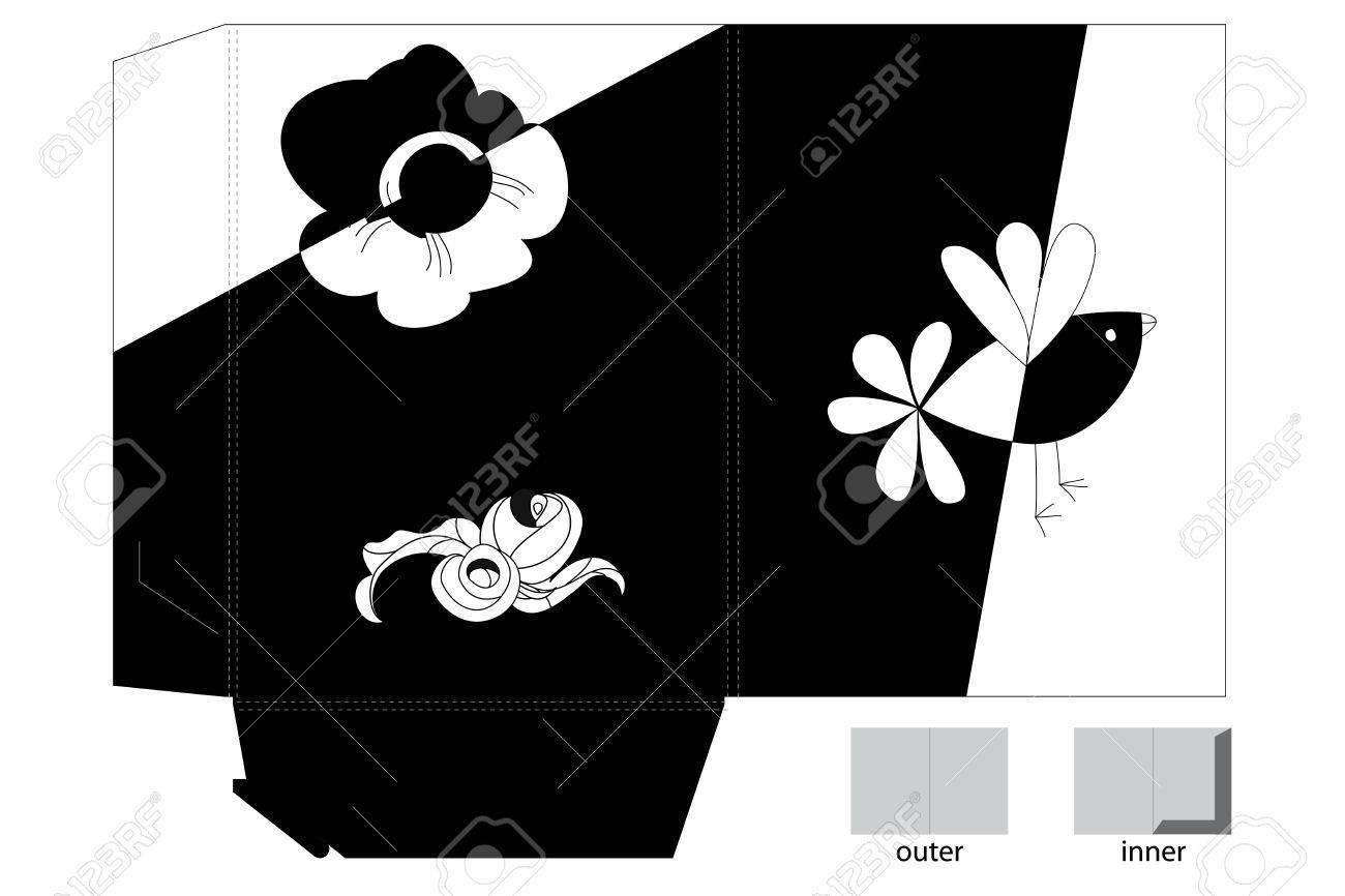 Template for folder design Stock Vector - 7420352