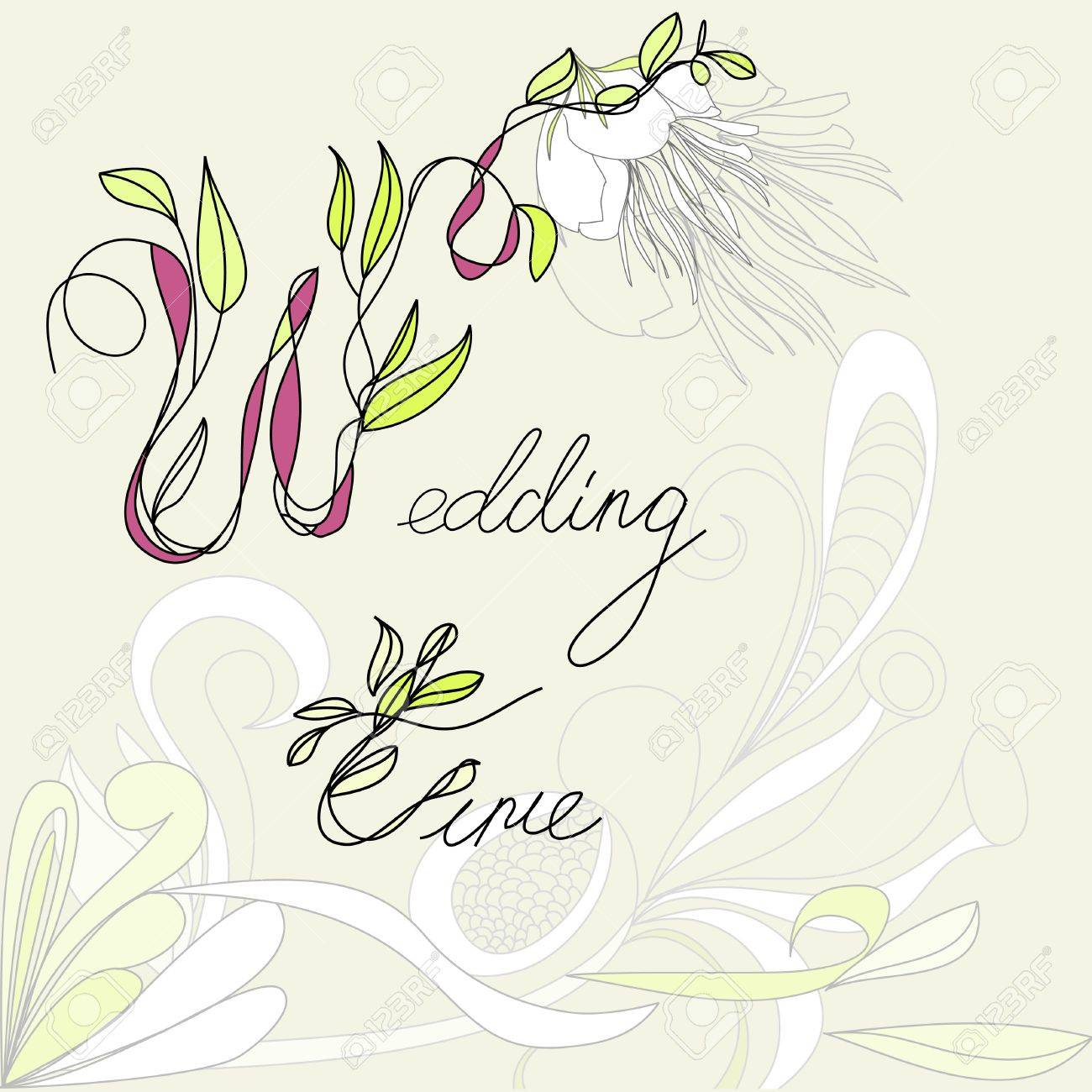 Wedding time Stock Vector - 7439411